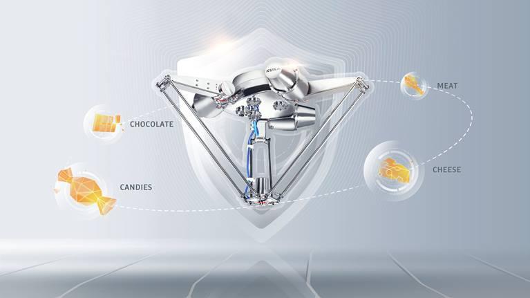 KR DELTA Robot higiénico
